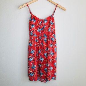 Margret by be cool orange mini dress